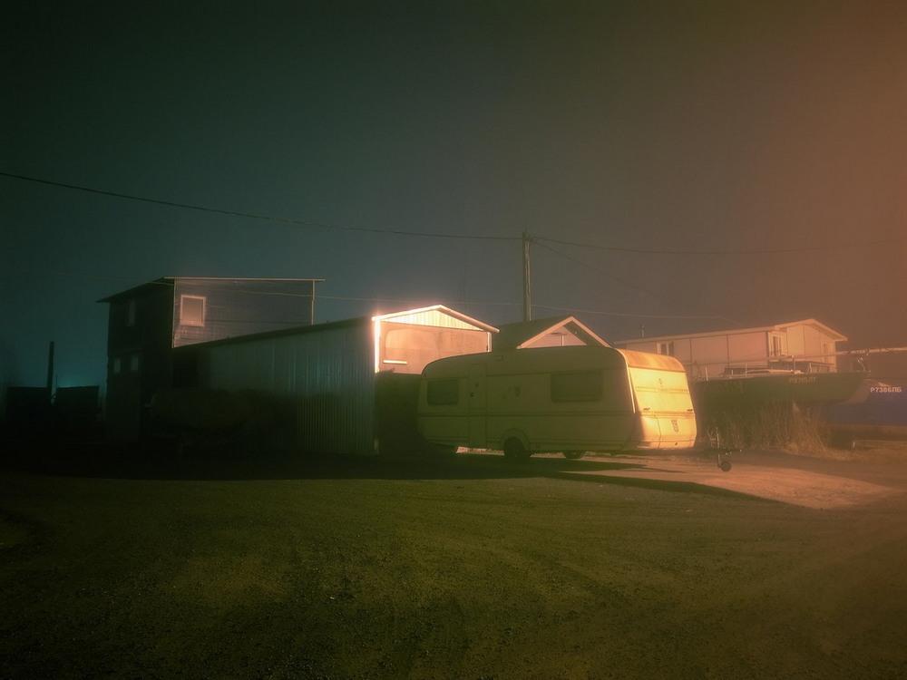 Зимний Мурманск на снимках Сергея Иуса Гольфстрима, Мурманск, основном, туманные, пейзажи, привлекают, людей, ощущения, холода, присутствия, живописны, делал, Думаю, стараюсь, придерживаться, особой, цветовой, гаммы, снимки, Остовы