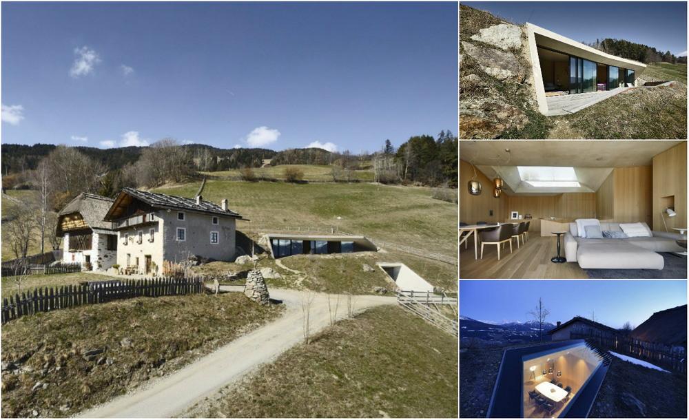 Модернизация жилого дома на хуторе в Италии