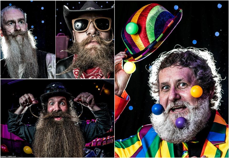 Конкурс бородачей и усачей в Великобритании