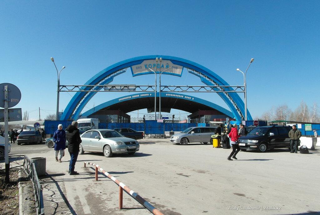 Граница Казахстан Кыргызстан