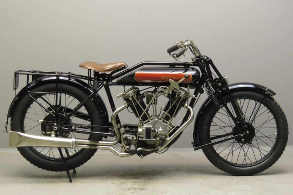 Старинный мотоцикл OEC–Blackburne Special 1927