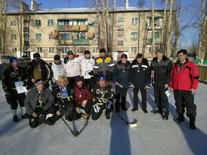 Хоккей в валенках 2017