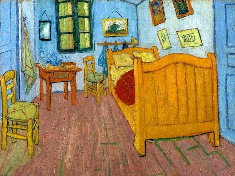 Ван Гог. Спальня в Арле, 1888.jpg