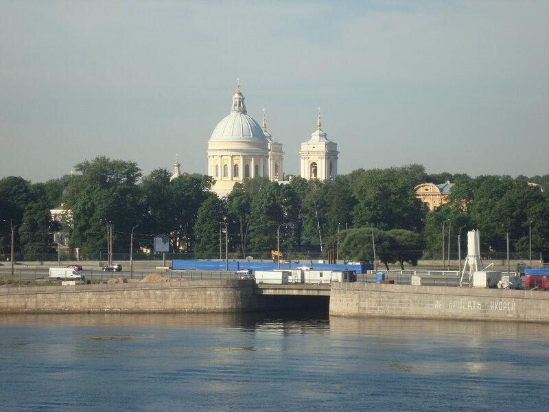 Санкт-Петербург. Александро-Невская лавра и устье Монастырки