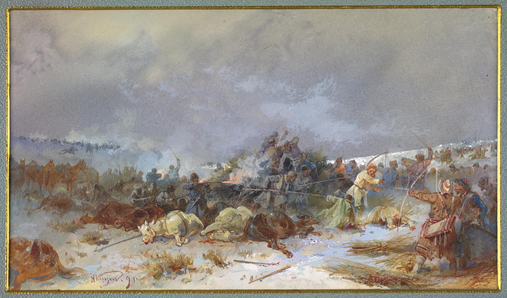 04. Картина битвы