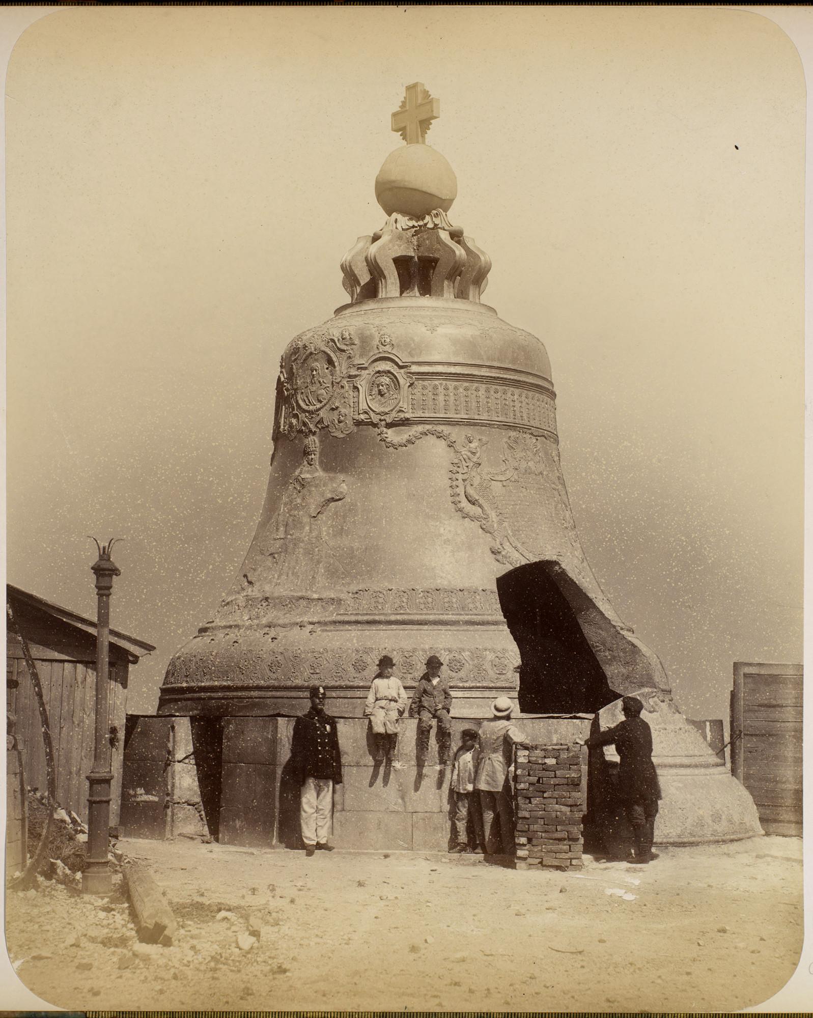 Кремль. Царь-колокол. 1874