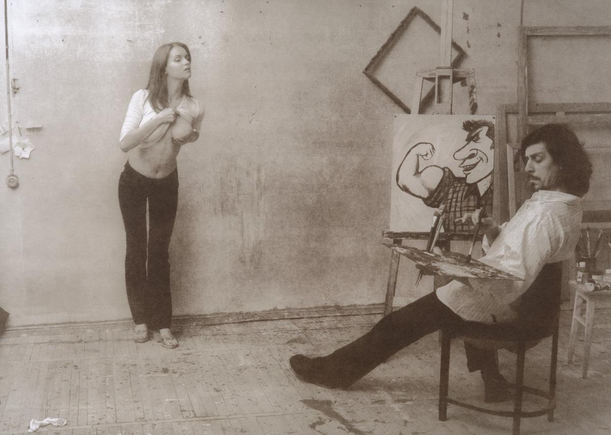 «Художник и модель»: причудливая экспериментальная серия Григория Майофиса