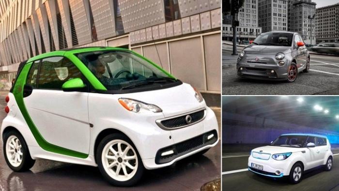 Самые доступные на сегодняшний день электромобили