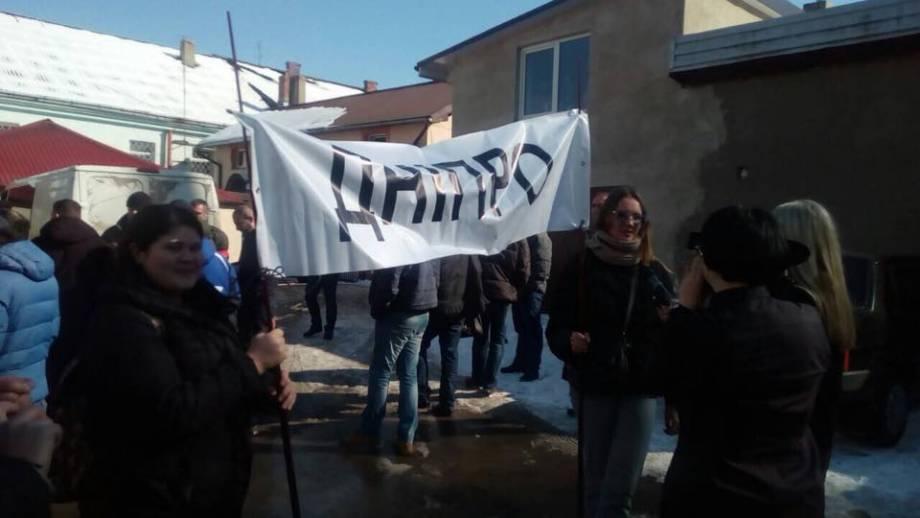 Днепропетровщина поддерживает Давида Сакварелидзе