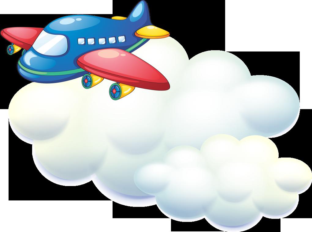 Эльвире, картинки самолет для детей на прозрачном фоне