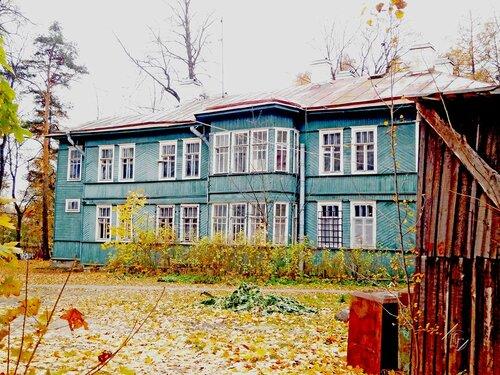 Деревянные дома Санкт-Петербурга