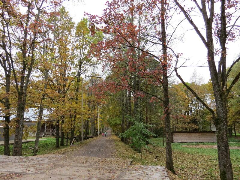Осенняя прогулка в музее Витославлицы