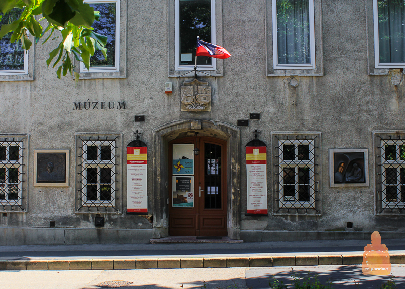 В музеее Святого Иштвана собрана коллекция археологической истории города