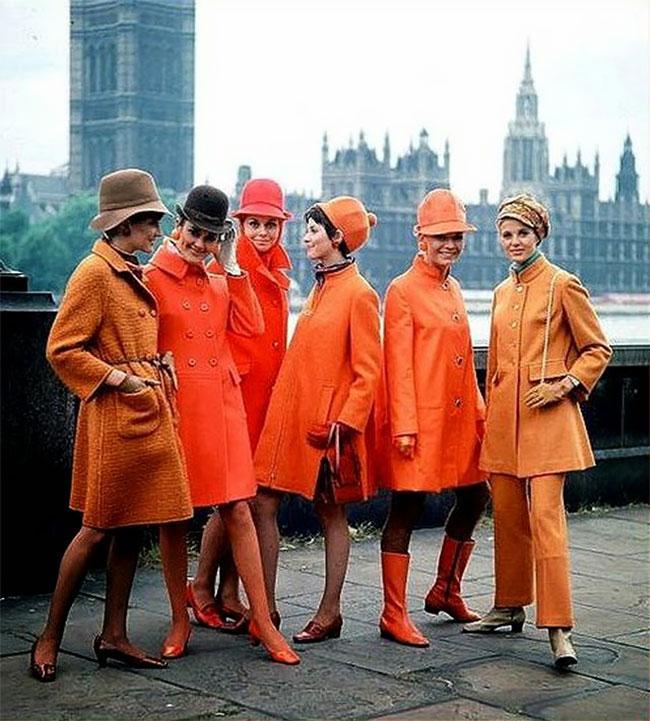 Лондонские стиляги из 1960х