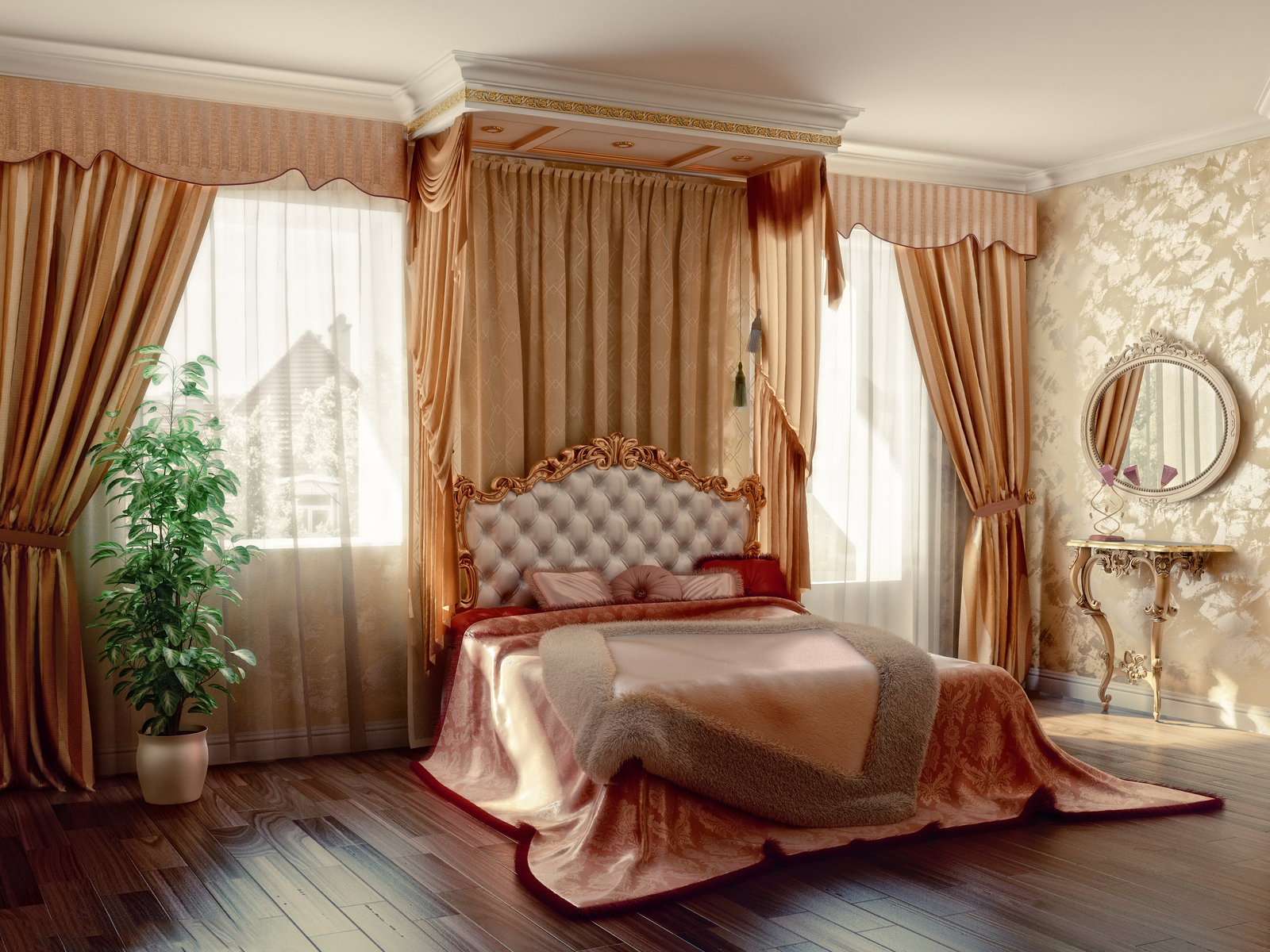 Правильно подобранные шторы — путь к хорошему отдыху и крепкому сну (1 фото)