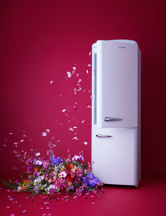 Spring-Inspired Campaign of Appliances and Flowers