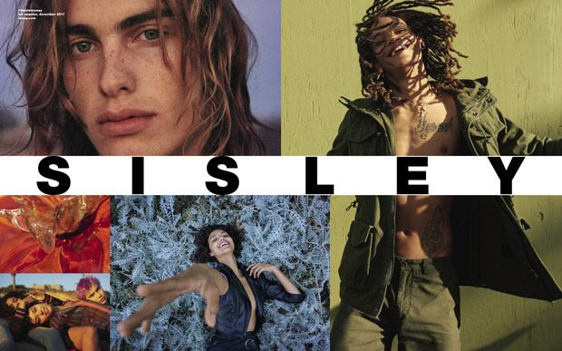 SISLEY Spring Summer 2018 Collection photographed by Ryan McGinley