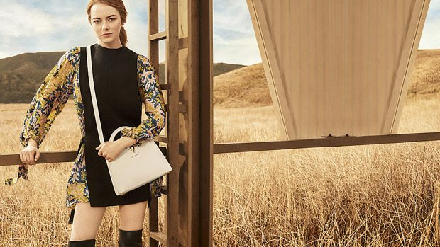Emma Stone is the Face of Louis Vuitton Spirit of Travel 2018 (7 pics)