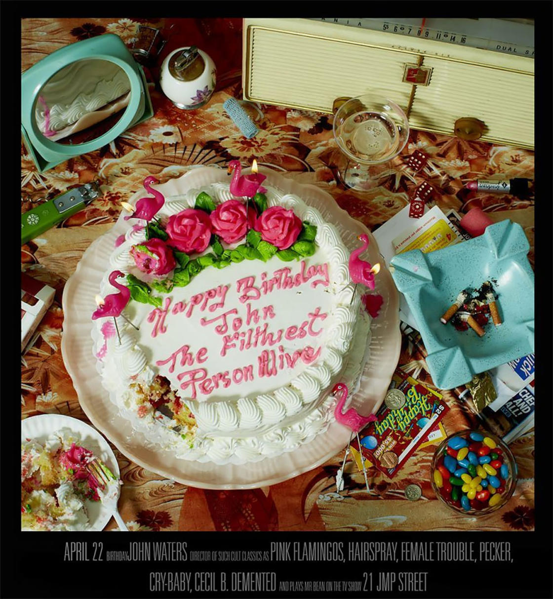 The birthday cakes of Hollywood famous directors