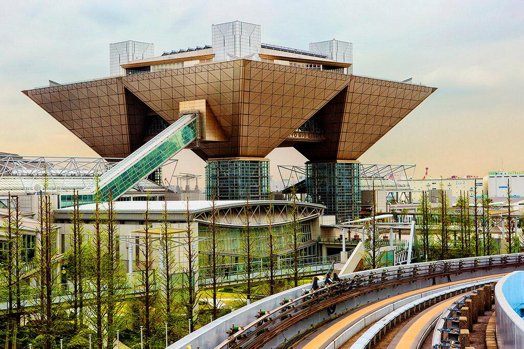 Токио. Одайба. Международный Выставочный Центр.