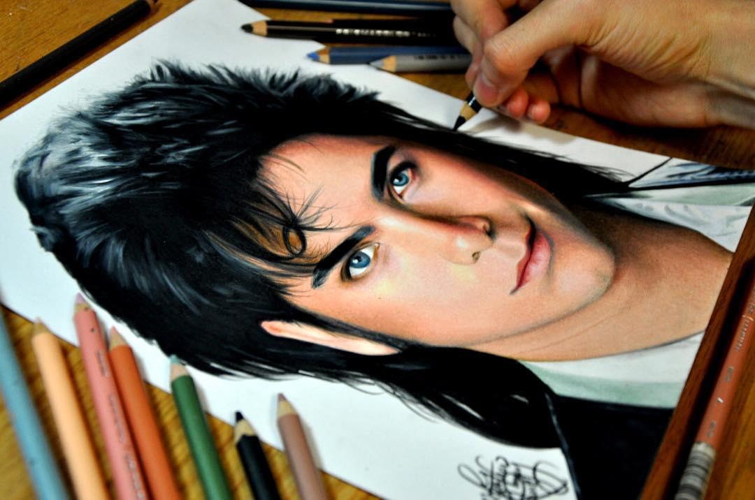 Реалистичные рисунки карандашами, которые трудно отличить от фотографий