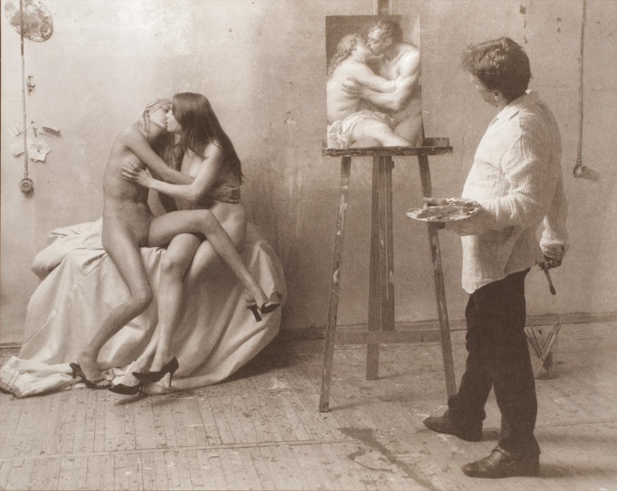 «Художник и модель»: причудливая экспериментальная серия Грегория Майофиса