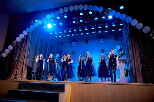 Гала-концерт победителей городского конкурса Юные голоса