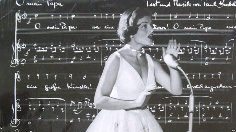 Умерла первая победительница «Евровидения»
