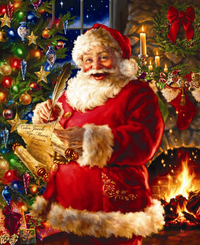 Открытки. С Днем Рождения Дед Мороз. Поздравляем! открытки фото рисунки картинки поздравления