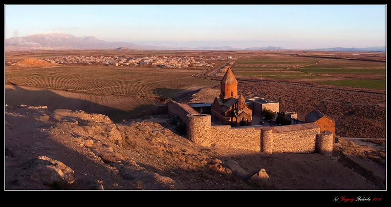 Монастырь Хор Вирап в Армении