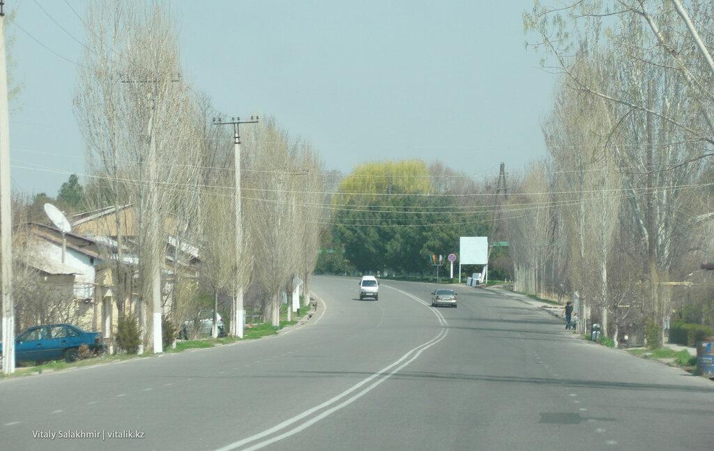 Дорога до границы из Ташкента, Узбекистан