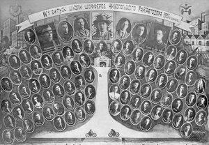 1933 г. Никопольский Райавтодор. 4 выпуск школы шоферов