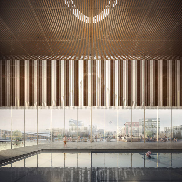 Oslo Airport City by Haptic Architects and Nordic – Office of Architecture