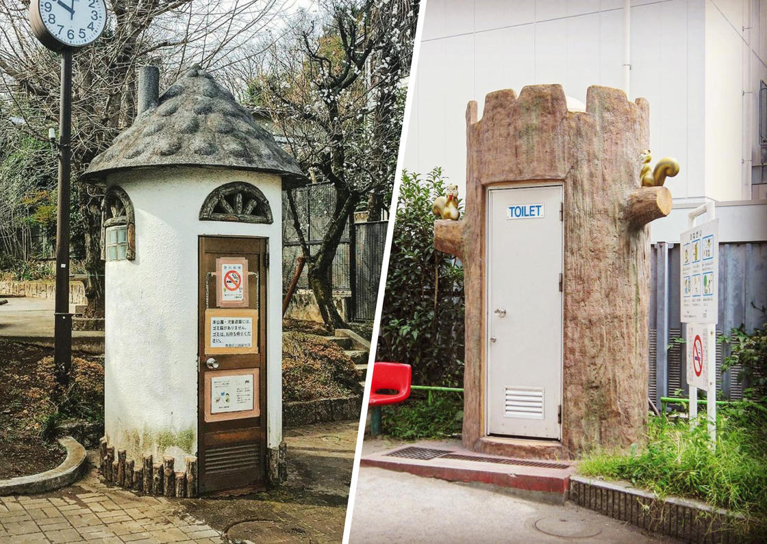 This photographer documents the most unusual toilets in Japan (25 pics)