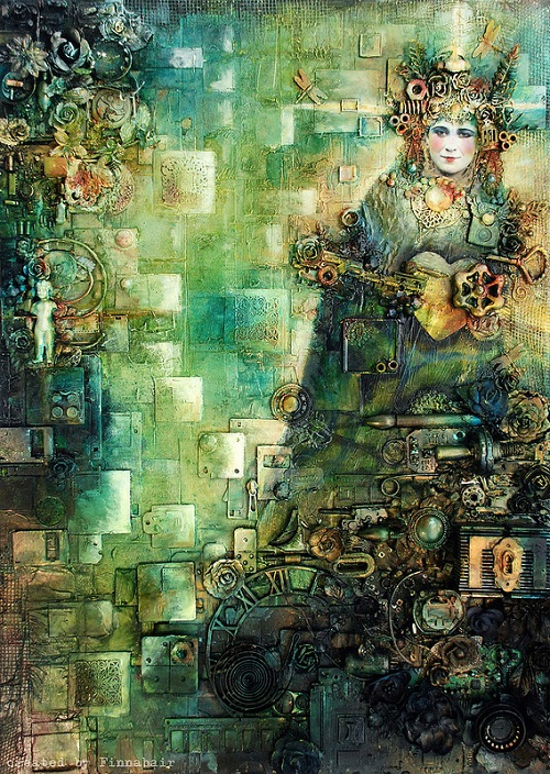 Steampunk Collages - Anna Dabrowska