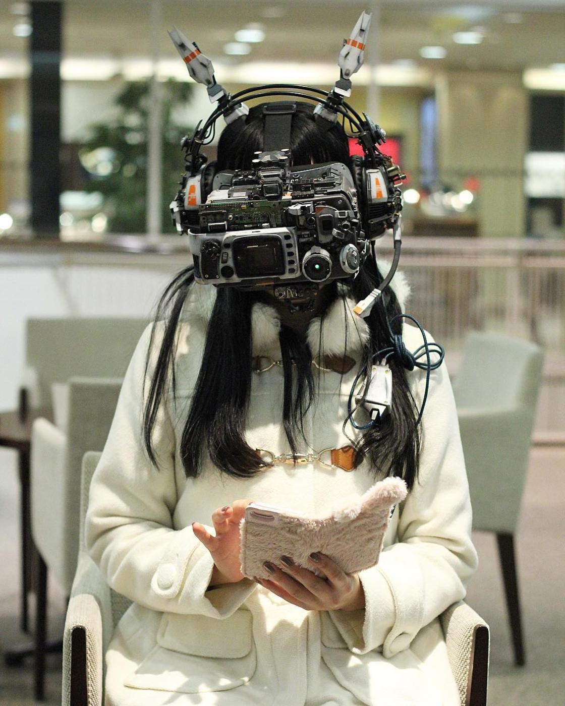 Cyberpunk – Les impressionnantes creations de Hiroto Ikeuchi