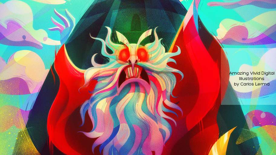 Amazing Vivid Digital Illustrations by Carlos Lerma