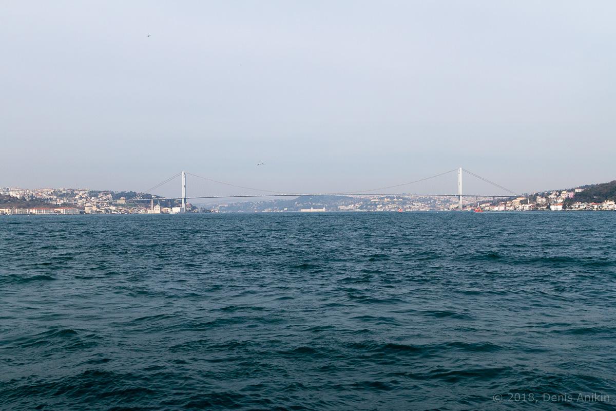 Босфорский мост фото 2
