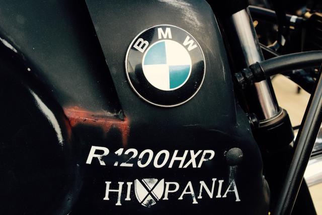 Hell's Kitchen Garage: скрэмблер BMW R1200HXP Beast