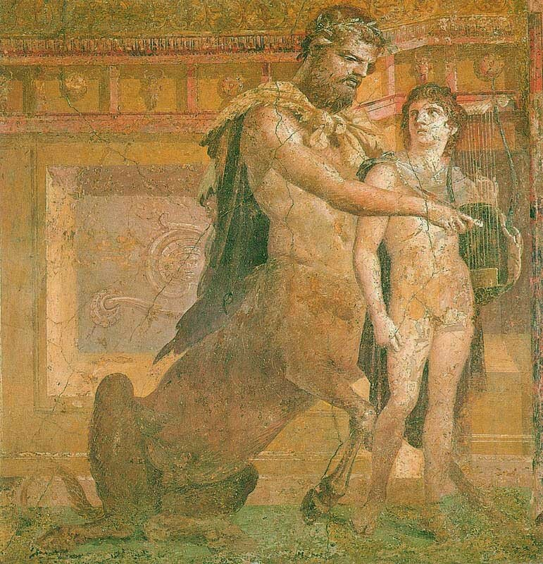 Chiron_instructs_young_Achilles_-_Ancient_Roman_fresco.jpg