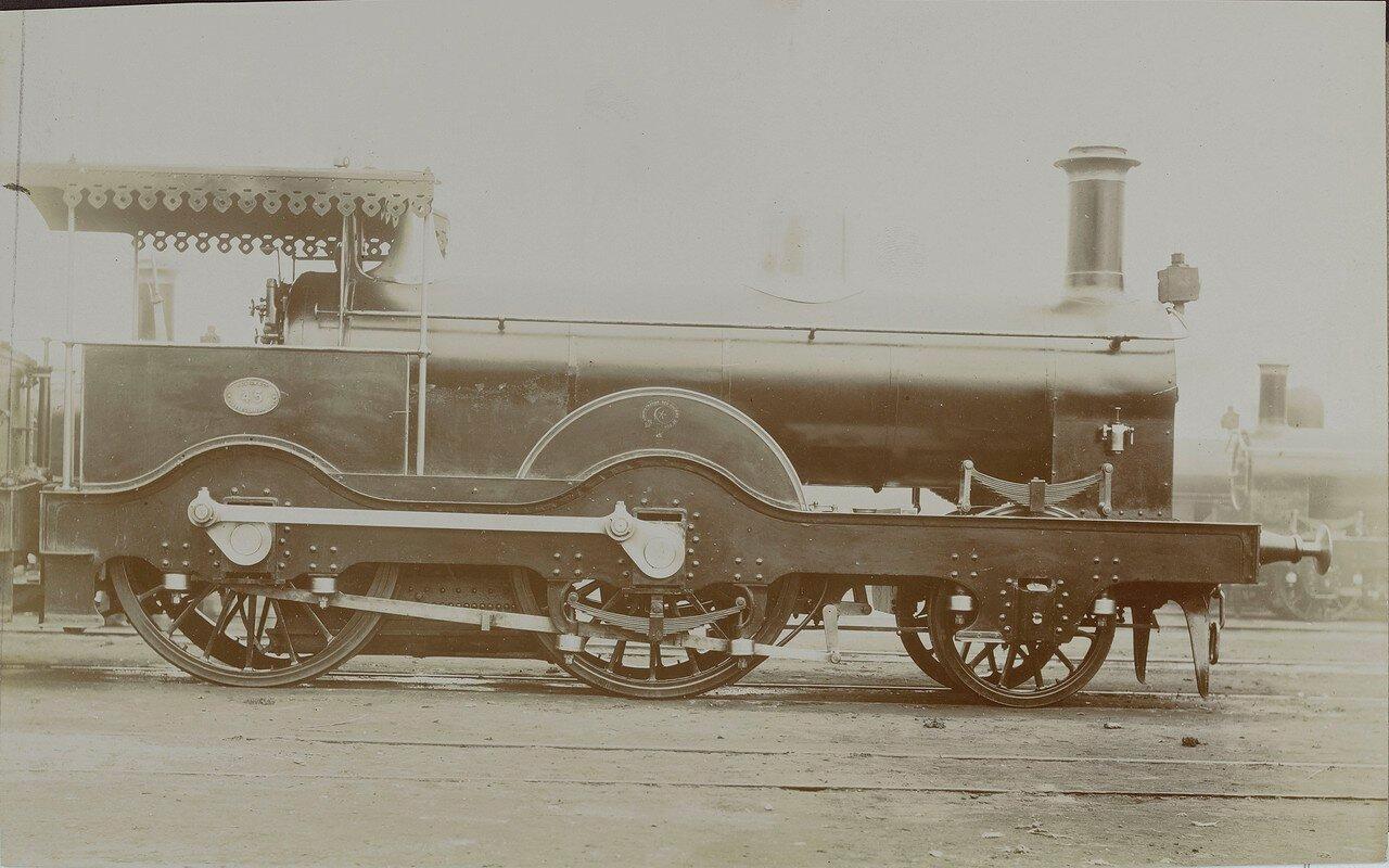 1888. Локомотив № 2928 компании «Neilson and Company» из Глазго