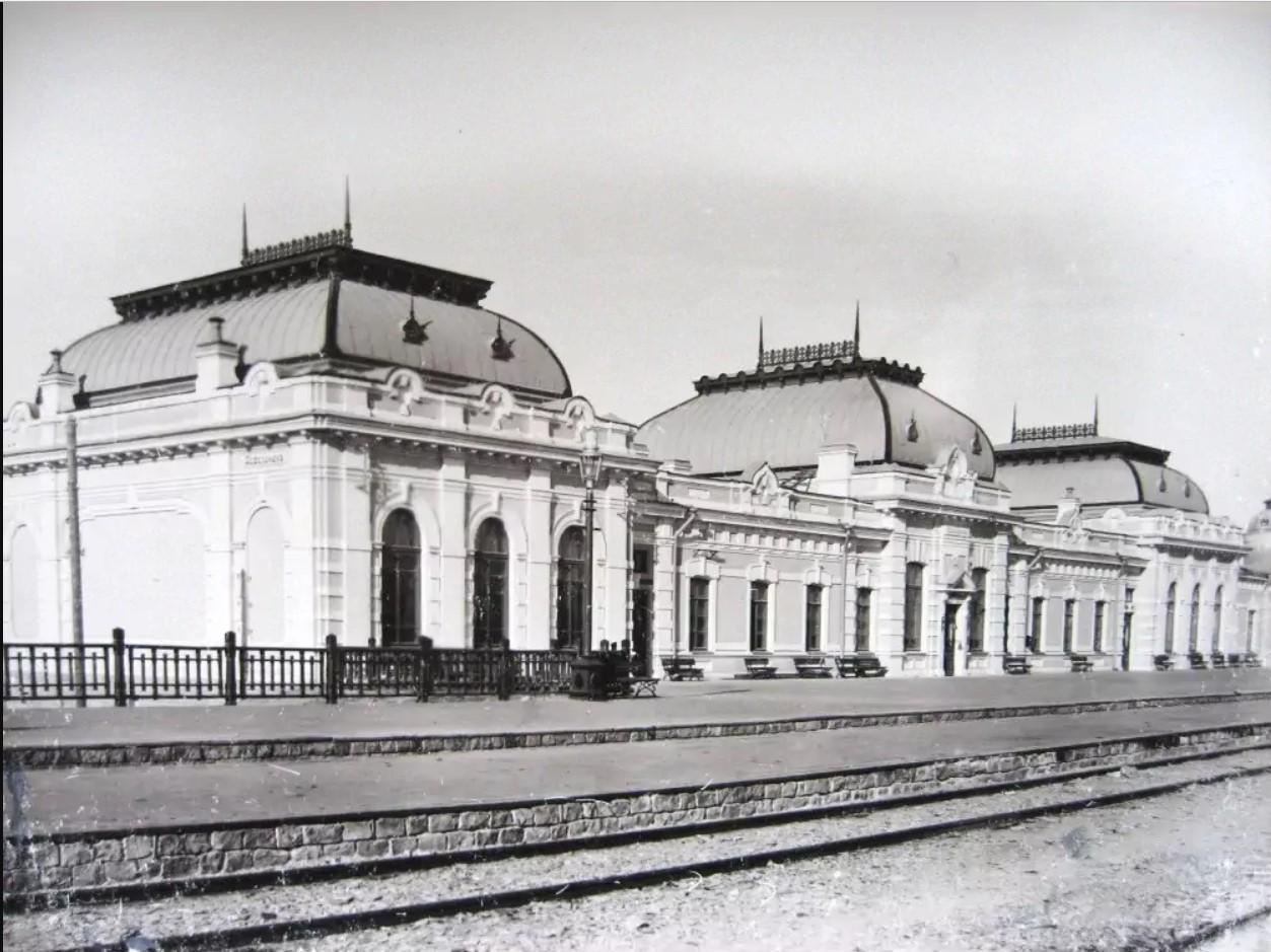 Вокзал станции Казалинск 1907