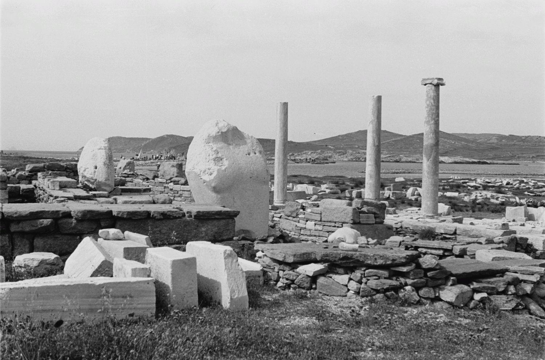 Делос. Древние руины