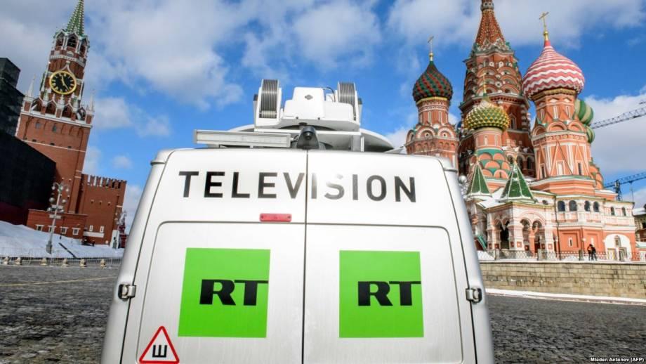 Телеканал RT прекратит вещание в Вашингтоне в ночь на 1 апреля – Bloomberg