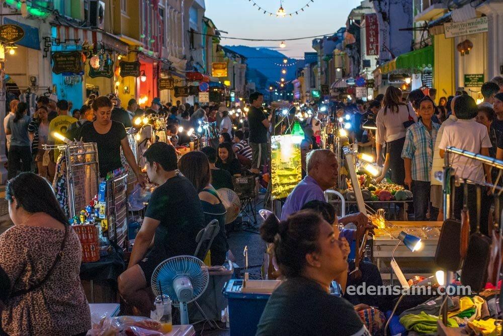 Воскресный рынок в Пхукет-Тауне