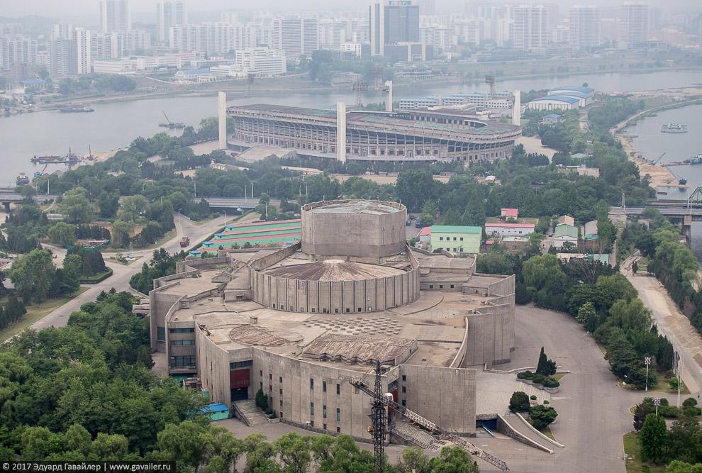 Пхеньян с высоты
