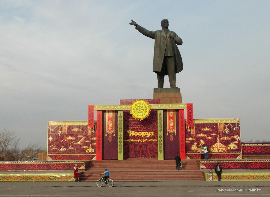 Ленин в Оше