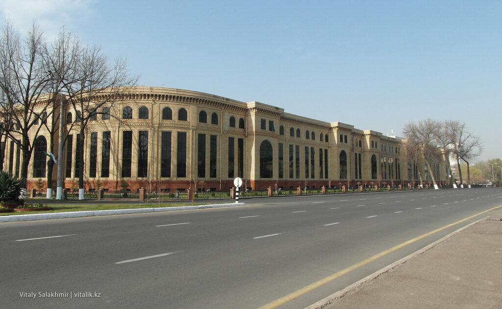 Кольцевая дорога, улица Амира Темура