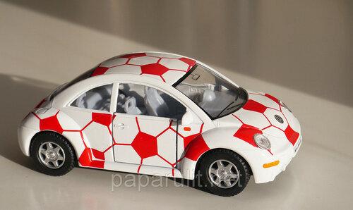 Kinsmart Volkswagen футбольный мяч