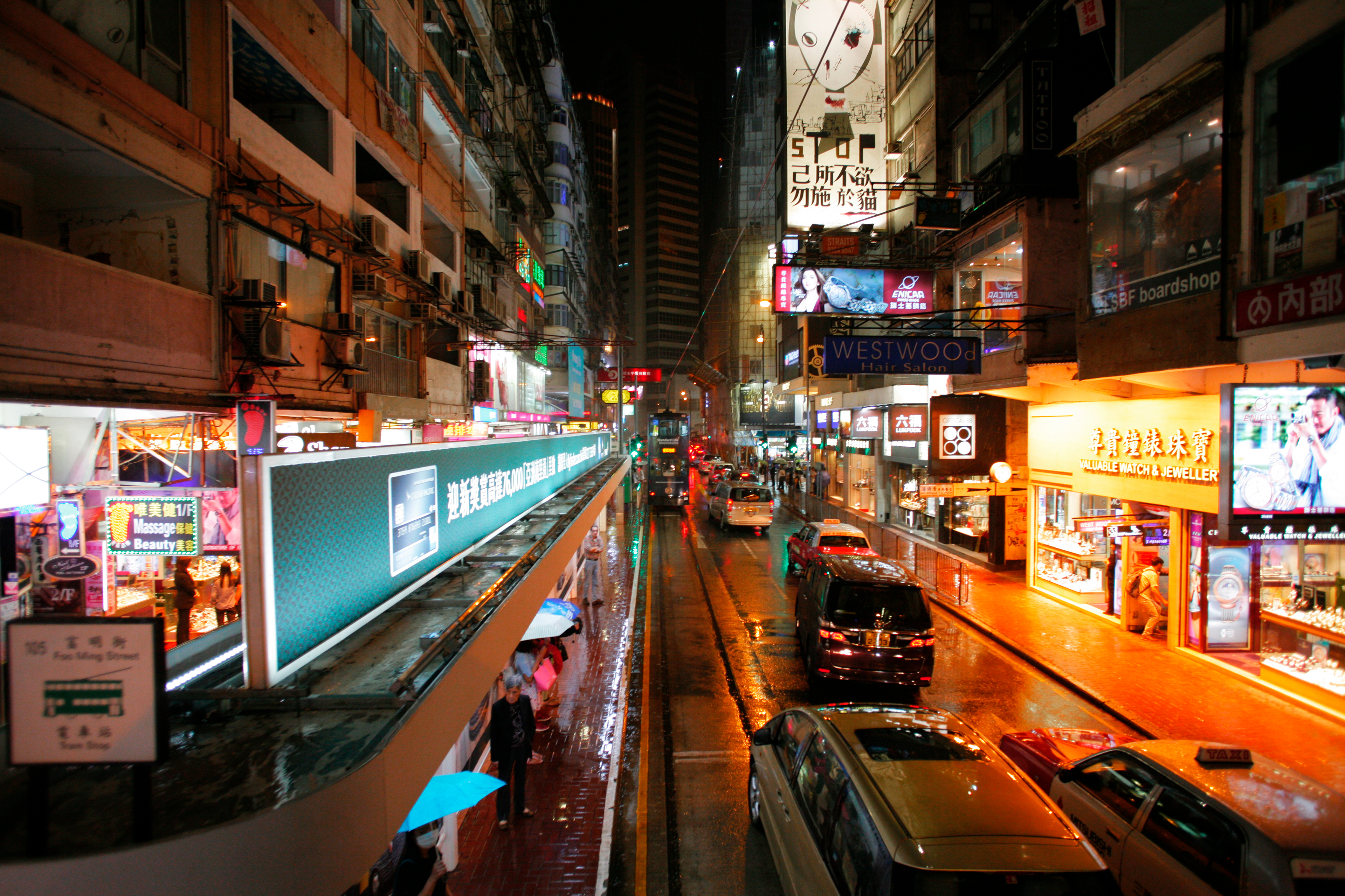 Towering Buildings and Maze-Like Streets of Hong Kong